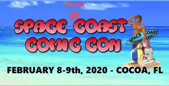 SPACE COAST CON FEB 8 & 9TH, 2020!